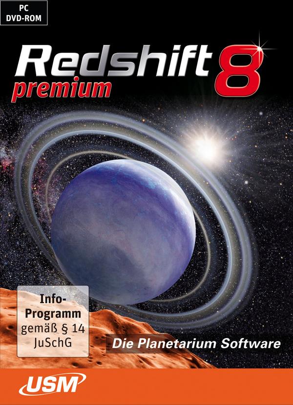 Redshift 8 Planetarium Software