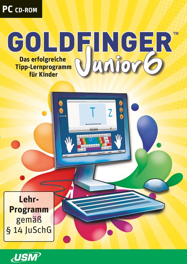 Goldfinger Junior 6 : The fun typing tutorial for kids | USM